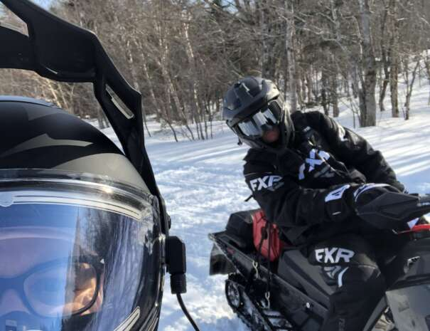 Snowmobile Trail Tour with TNT Outdoor Adventures Inc.